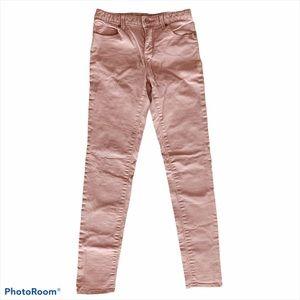 Gap Kids Dusty Rose Pink Super Skinny Jeans 14 Reg